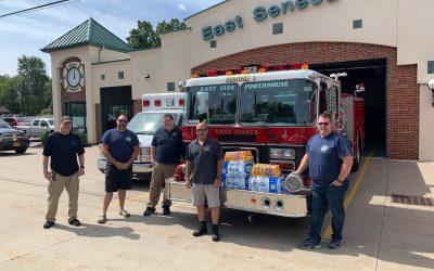 Attica Donates to Local Fire Departments