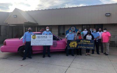 Altona CF donates to North Country Pink Heals